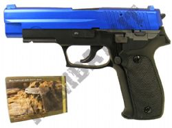 GG106 BB Gun Sig Sauer P226 Replica Gas Airsoft Pistol Black & 2 Tone